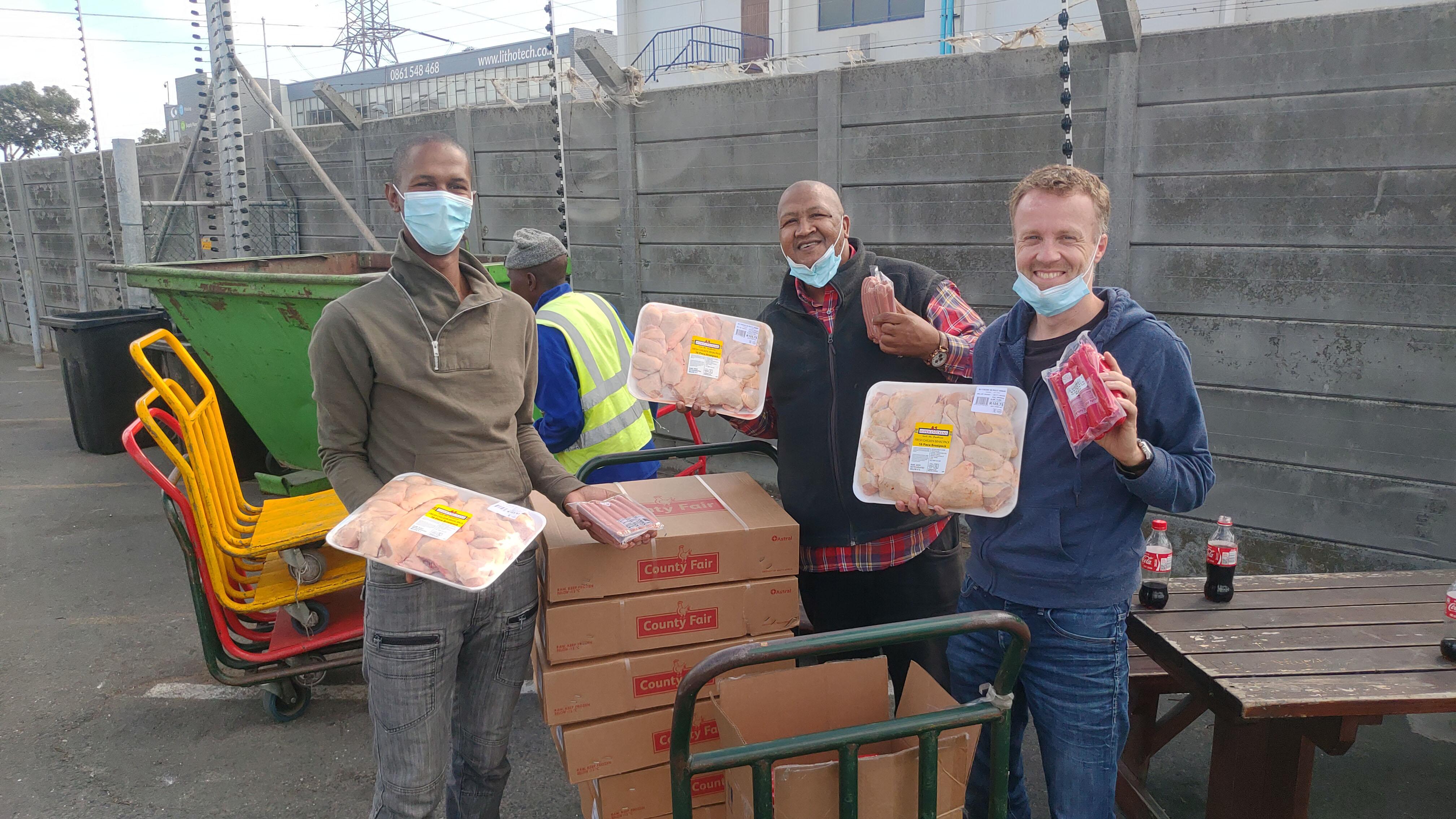 Corona-Hilfsprojekt in Südafrika